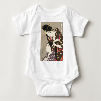 Body Para Bebé Arte para mujer de Utamaro Yuyudo Ukiyo-e de la