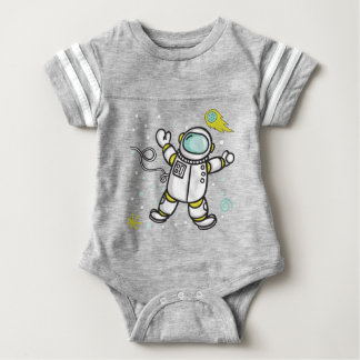 Body Para Bebé Astronauta