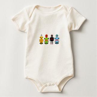 Body Para Bebé ¡Ataque de los robots!
