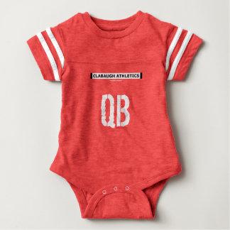 Body Para Bebé Atletismo QB de Clabaugh