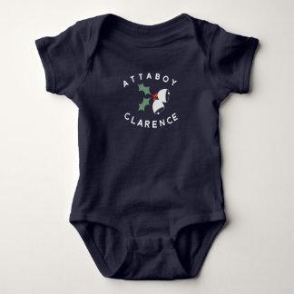 Body Para Bebé Attaboy mono de Clarence Bell
