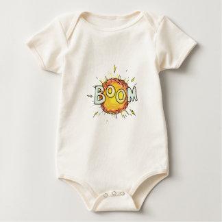 Body Para Bebé Auge de la explosión del dibujo animado