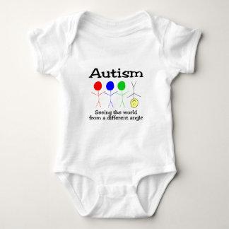 Body Para Bebé Autismo que ve el mundo de un diverso ángulo