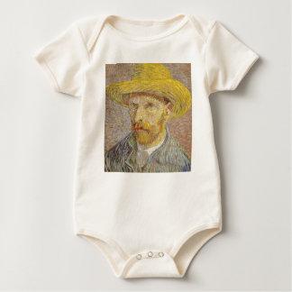 Body Para Bebé Autorretrato de Vincent van Gogh con arte del