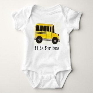 Body Para Bebé B está para el alfabeto de la educación del