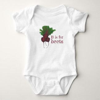 Body Para Bebé B está para el Veggie de la verdura de raíz de la