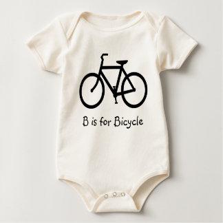 Body Para Bebé B está para la bicicleta