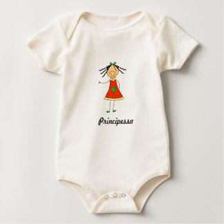 "Body Para Bebé Babybody ""Principessa """