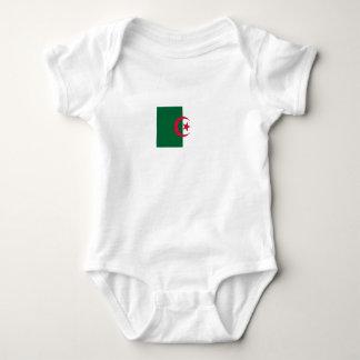 Body Para Bebé Bandera argelina patriótica
