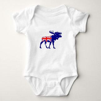 Body Para Bebé Bandera australiana - alce