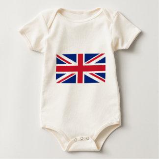 """Body Para Bebé Bandera BRITÁNICA """"Union Jack """" de Reino Unido del"""