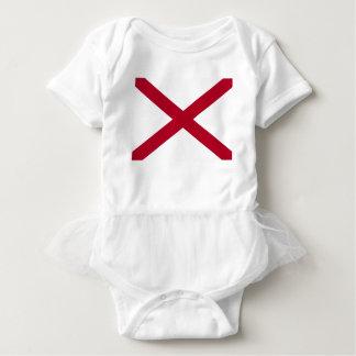 Body Para Bebé Bandera de Alabama