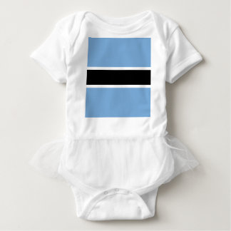 Body Para Bebé Bandera de Botswana