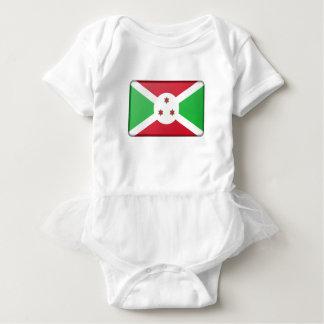 Body Para Bebé Bandera de Burundi
