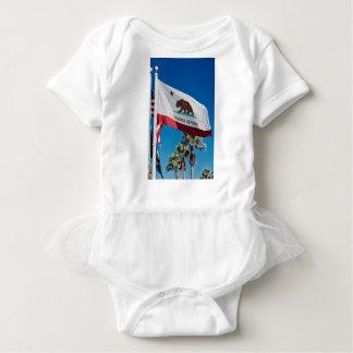 Body Para Bebé Bandera de California