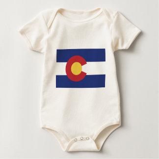 Body Para Bebé Bandera de Colorado