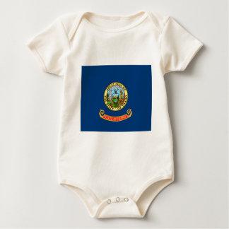 Body Para Bebé Bandera de Idaho