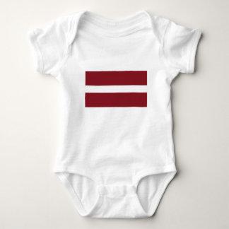 Body Para Bebé Bandera de Letonia