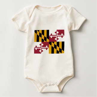 Body Para Bebé Bandera de Maryland