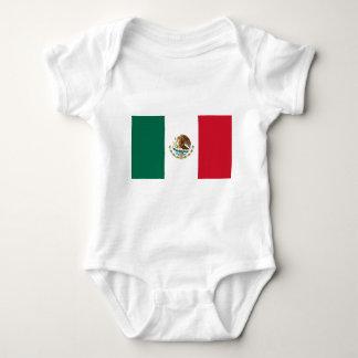 Body Para Bebé Bandera de México - bandera mexicana - Bandera de