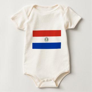 Body Para Bebé Bandera de Paraguay - Bandera de Paraguay