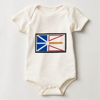 Body Para Bebé Bandera de Terranova (Canadá)