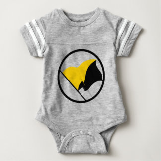 Body Para Bebé Bandera del capitalismo de Anarcho