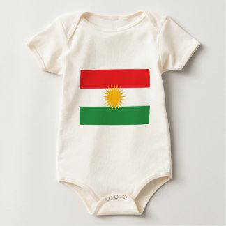 Body Para Bebé Bandera del Kurdistan; Kurd; Kurdo
