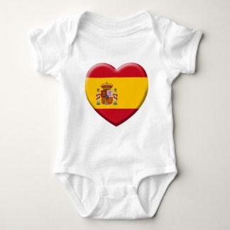 Body Para Bebé Bandera España