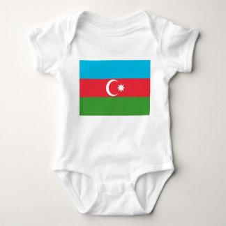 Body Para Bebé Bandera nacional del mundo de Azerbaijan