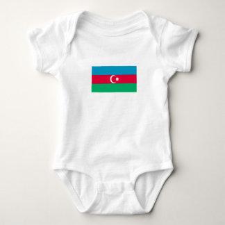 Body Para Bebé Bandera patriótica de Azerbaijan
