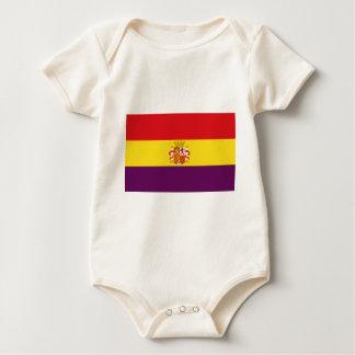 Body Para Bebé Bandera republicana española - Bandera República