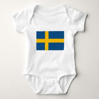 Body Para Bebé Bandera sueca