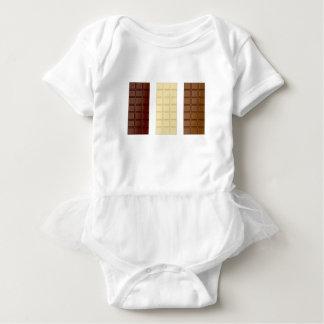 Body Para Bebé Barras de chocolate