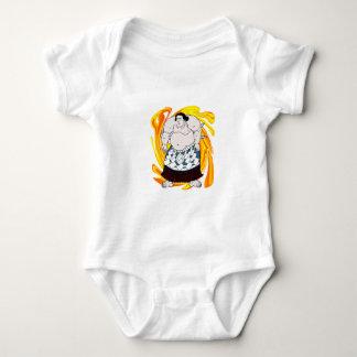 Body Para Bebé Barrendero del sumo