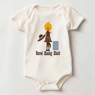 Body Para Bebé Barril que compite con el mono orgánico del bebé