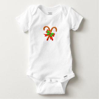 Body Para Bebé Bastones del navidad
