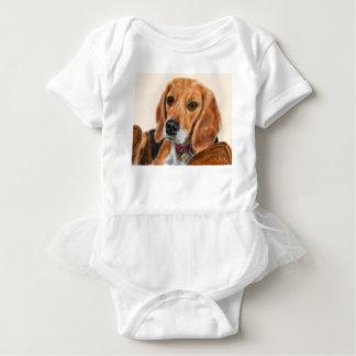 Body Para Bebé Beagle