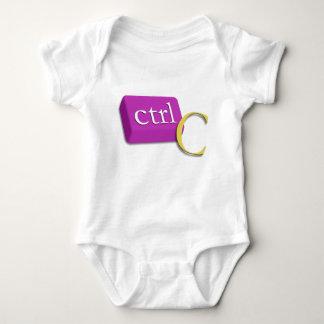 Body Para Bebé Bebé 1 del gemelo del empollón del ordenador de 2