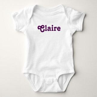 Body Para Bebé Bebé Claire de la ropa