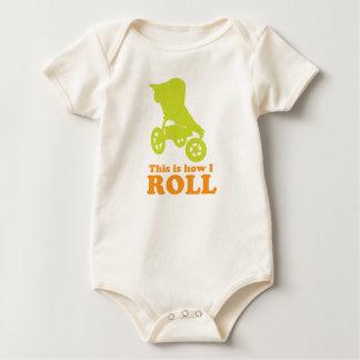 Body Para Bebé bebé cómo ruedo