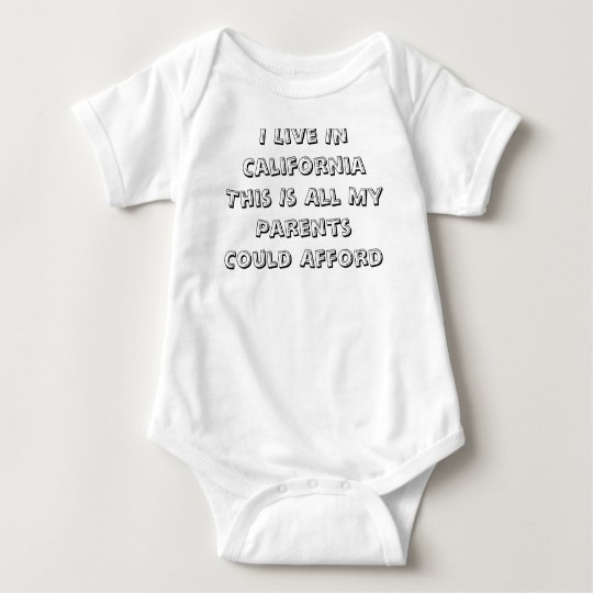Body Para Bebé Bebé de California