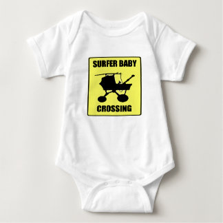 Body Para Bebé Bebé de la persona que practica surf