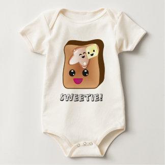 Body Para Bebé Bebé de la tostada francesa del Sweetie