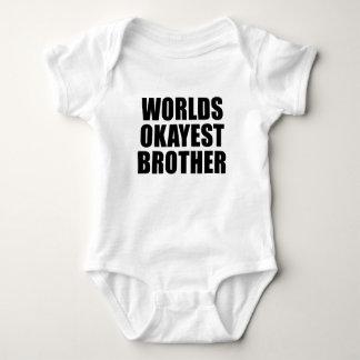 Body Para Bebé Bebé de Okayest de los mundos/camisa de pequeño