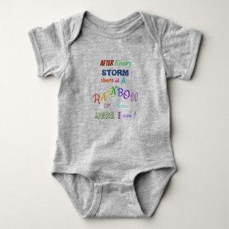 Body Para Bebé Bebé del arco iris