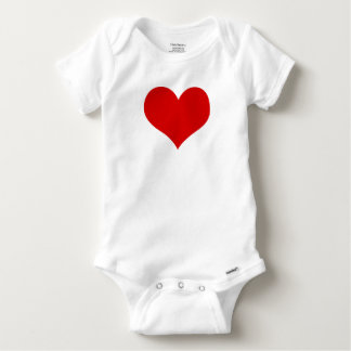 Body Para Bebé bebé del corazón