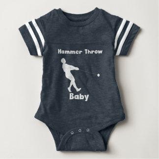 Body Para Bebé Bebé del lanzamiento de martillo