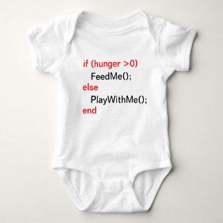 Body Para Bebé Bebé del programador (FeedMe, PlayWithMe)