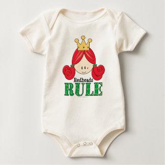 Body Para Bebé Bebé del Redhead de la regla de los Redheads